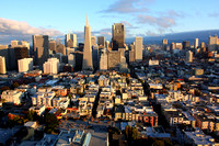 Downtown San Franciso from Coit Tower