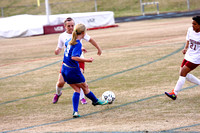 Woodmont Girl's Varsity Soccer vs Westside 3-21-14